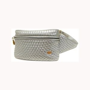 Bally Quilted Waist Pouch Fanny Pack 230672